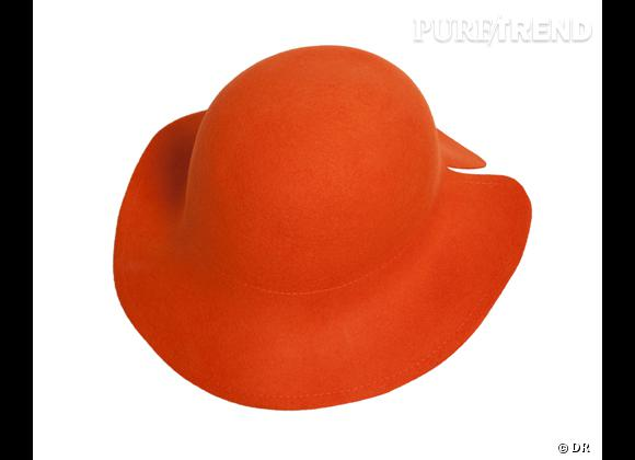 50 chapeaux pour cet Automne-Hiver 2011/2012 !     Capeline Mademoiselle Tara, 90 €.