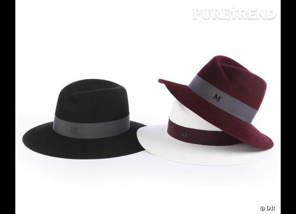 """50 chapeaux pour cet Automne-Hiver 2011/2012 !     Trilby """"VIRGINIE"""" avec bord large en feutre Maison Michel, prix sur demande."""