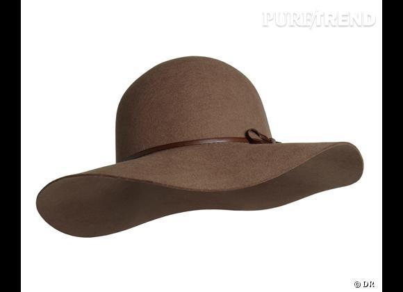 50 chapeaux pour cet Automne-Hiver 2011/2012 !     Capeline Comptoir des Cotonniers, 85 €.   Sur     www.comptoirdescotonniers.com