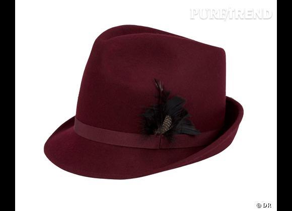 50 chapeaux pour cet Automne-Hiver 2011/2012 !     Chapeau trilby Paul Smith, 114 €.   Sur  www.paulsmith.co.uk