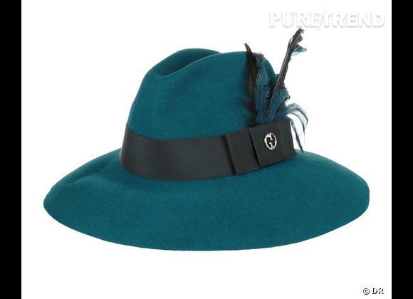 50 chapeaux pour cet Automne-Hiver 2011/2012 !     Chapeau fedora Gucci, 330 €.   Sur  www.net-a-porter.com
