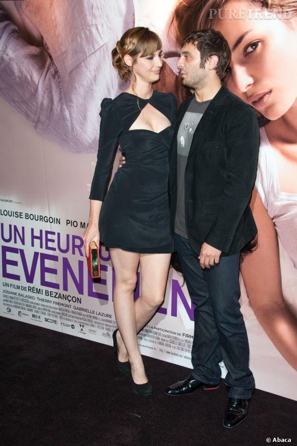 Louise Bourgoin et son partenaire dans le film, Pio Marmai.