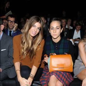 Bianca Brandolini d'Adda et Delfina Delettrez, toujours amies et côte à côte.