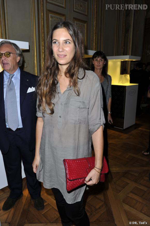 Tatiana Santo Domingo, la petite amie d'Andrea Casiraghi, était également de la partie.