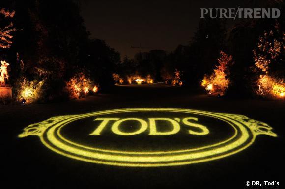 Au programme de la soirée Tod's, la présentation de la collection de sacs Tod's Signature.