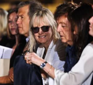 Ludivine Sagnier, Mario Testino, Twiggy et Paul McCartney chez Stella McCartney.