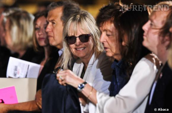 Ludivine Sagnier, Mario Testino, Twiggy et Paul McCartney chez Stella McCartney.