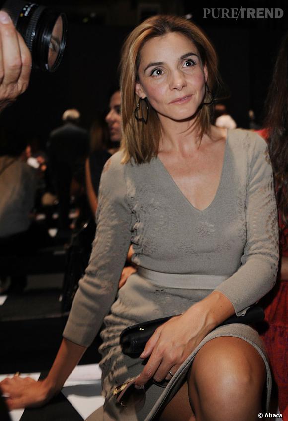 Clotilde Courau également chez Giambattista Valli.