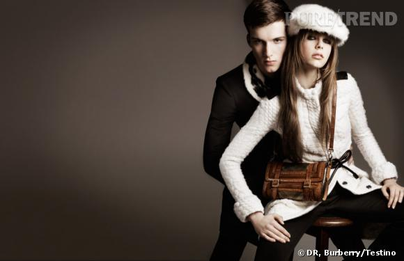 "Campagne Burberry ""Winter Storms"", Automne-Hiver 2011/2012."