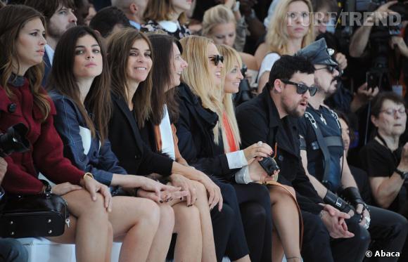 Joli parterre de stars chez Vuitton avec les Roitfeld mère et fille, Rachel Zoe, Nicole Richie et Joel Madden.