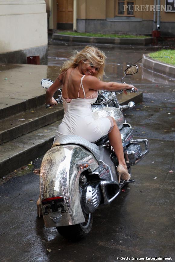 Pamela Anderson et Brett Michaels en privé -