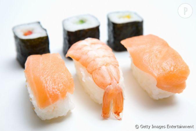 Teneur en graisse des sushis