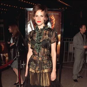 Hilary Swank, au summum du glamour... Ou pas.