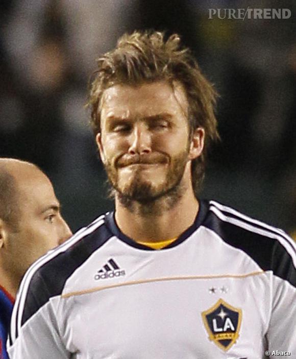 David Beckham : monkey !