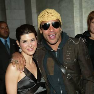 Lenny Kravitz et Marisa Tomeï : escapade amoureuse en 2003.