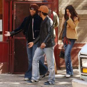 Lenny Kravitz et Adriana Lima de 2001 à 2003.
