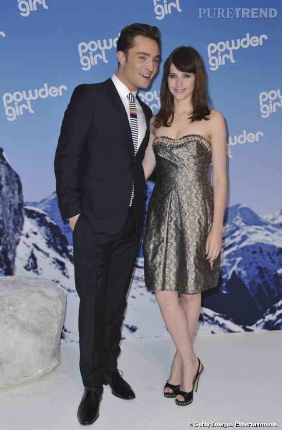 Exit Jessica Szohr, Ed Westwick s'offre une petit retour ... Ryan Gosling And Eva Mendes