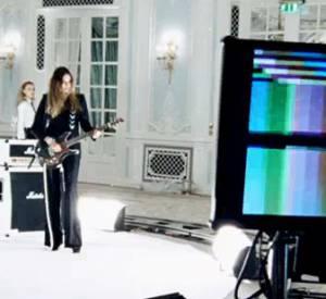 "Le making-of du shooting et du clip ""Girl Panic !""."