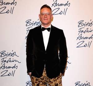 Le créateur anglaise Giles Deacon.