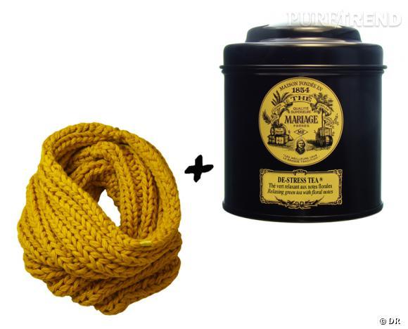 th de stress tea mariage frres 1450 la bote de 100 g snood golden hook 65 - Boite A The Mariage Freres