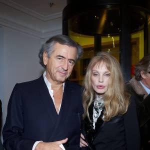 Bernard Henri Levy et Arielle Dombasle.