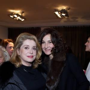 Catherine Deneuve et Valérie Lemercier.