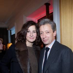 Valérie Lemercier et Frédéric Malle.