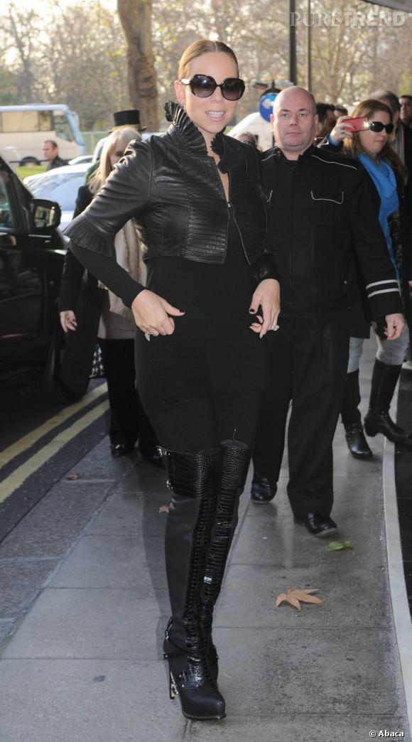 Mariah Carey peut être fière de sa nouvelle silhouette.