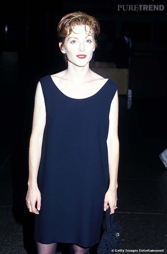 Les premières apparitions sur red carpet de la jeune actrice sont plutôt mitigées. Pâleur extrême et cheveux courts, pas terrible.