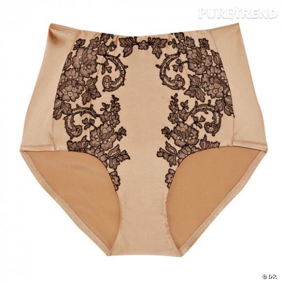 Culotte Carine Gilson        Prix : 384 €     En vente sur    www.net-a-porter.com