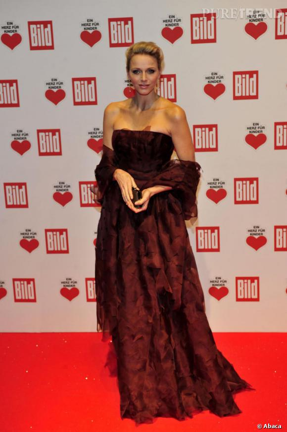 Charlene Wittstock, une princesse envoûtante.