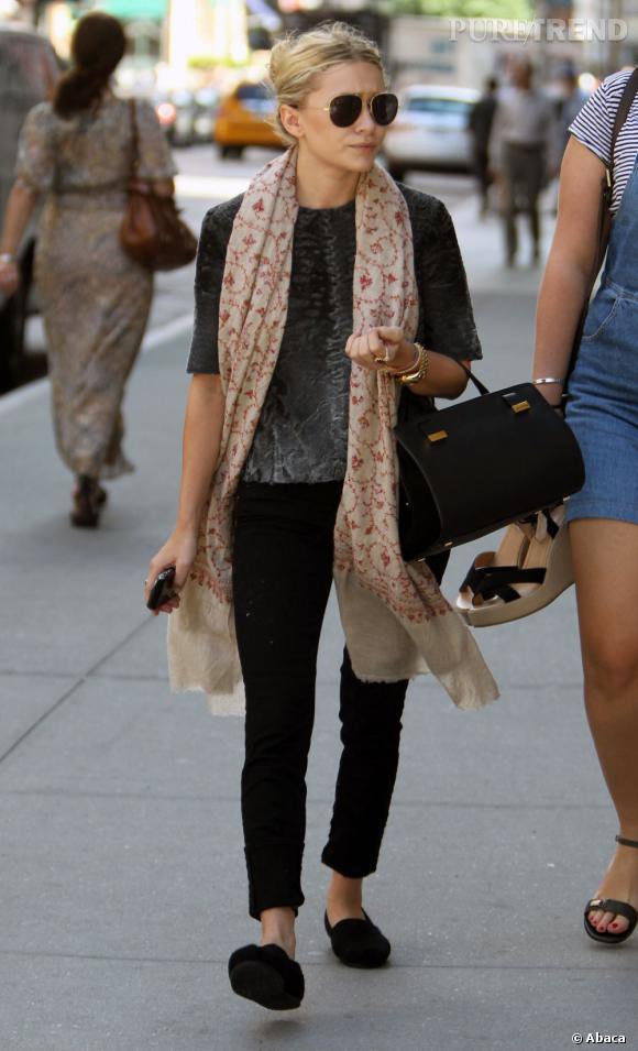 Ashley Olsen, la parfaite allure de new-yorkaise branchée.