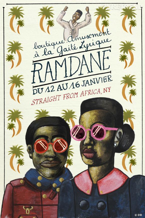 """Collection Ramdane disponible dans la boutique """"Amusement"""" à la Gaité Lyrique du 12 au 16 janvier 2012."""