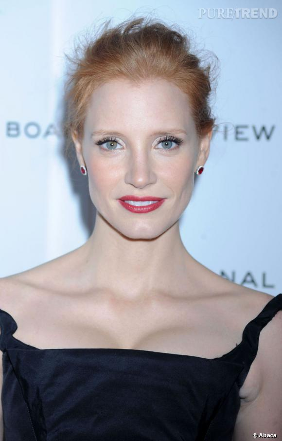 Jessica Chastain au National Board of Review 2012 à New York.