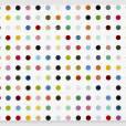 DAMIEN HIRST   1-Octanol, 2010   Household gloss on canvas   58.4 x 68.6 cm   Image réalisée par Prudence Cuming Associates