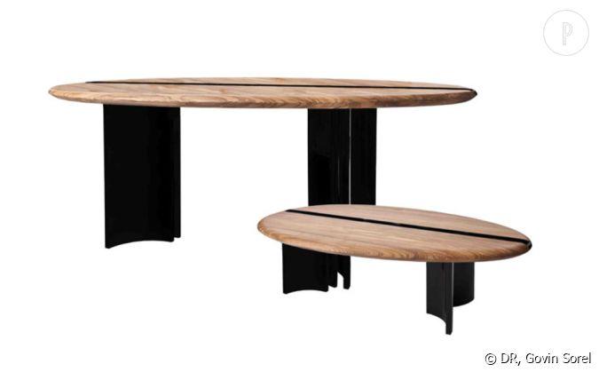 Bureau ou table de salle manger et table basse design alice etcaetera pour pleyel - Recherche table de salle a manger ...
