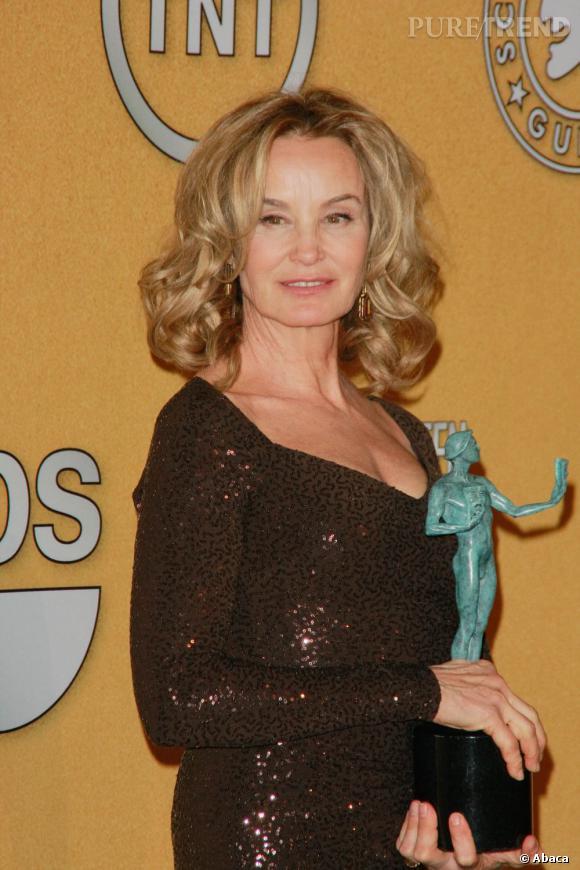 """Jessica Lange, remporte le Screen Actor Guild Award de la """"Meilleure actrice"""" dans une série dramatique, """"American Horror Story""""."""