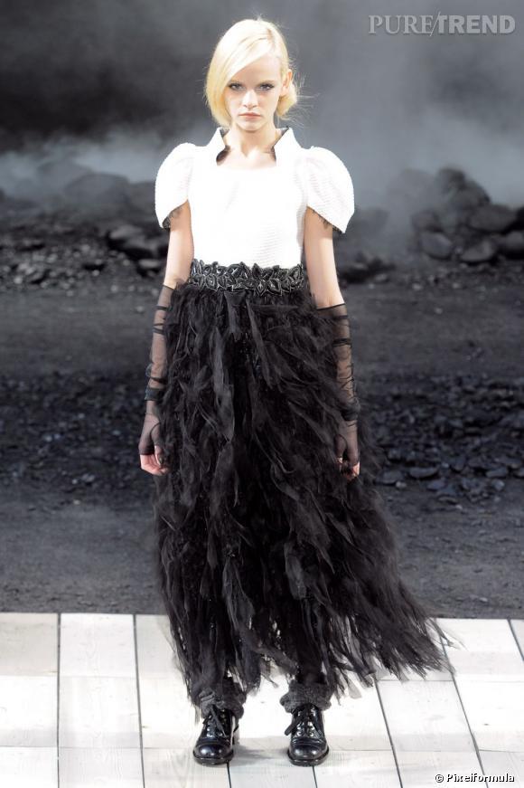 Défilé Chanel automne-hiver 2011-2012