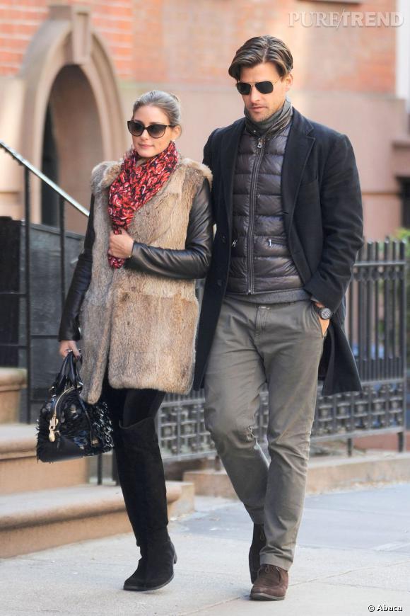 Olivia Palermo, reine du style à Manhattan.
