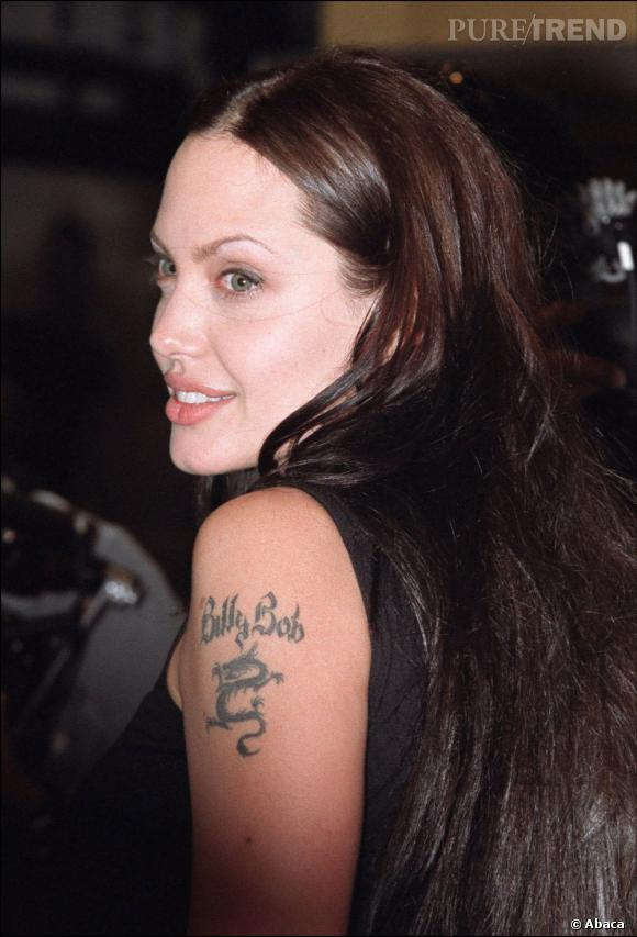Angelina Jolie au temps de son amour avec Billy Bob Thorton.