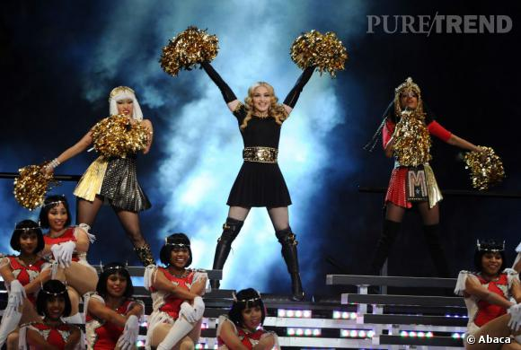 "Nicki Minaj, Madonna et M.I.A au Super Bowl 2012 pour le titre ""Give Me All Your Love"""