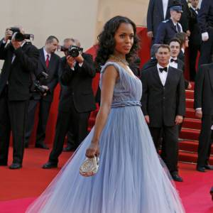 Kerry Washington, une princesse en Jean-Paul Gaultier.
