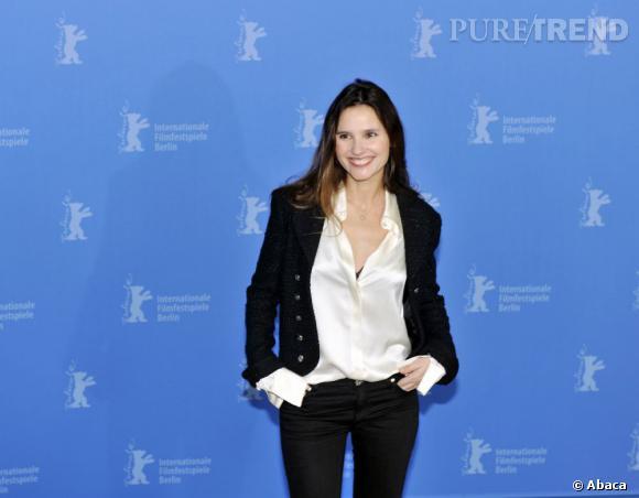"""Virginie Ledoyen au photocall du film """"Les adieux de la Reine"""" à la Berlinale."""