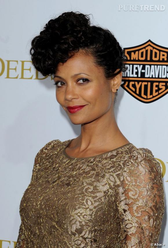 """Thandie Newton à la première mondiale de """"Tyler Perry's Good Deeds"""" à Los Angeles."""