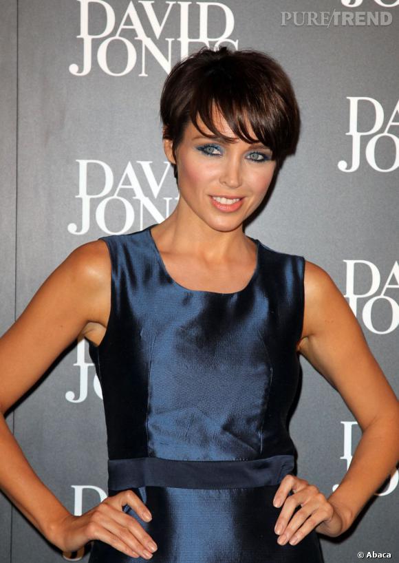 Dannii Minogue à la présentation de la collection Automne-Hiver 2012/2013 à Sydney.