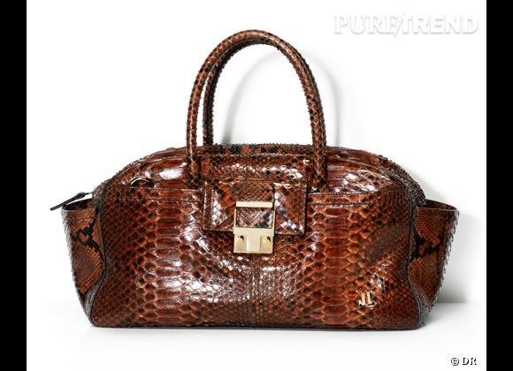 Les it-bags de cet été 2012 : Lanvin    JL bag en python, 3800 €.
