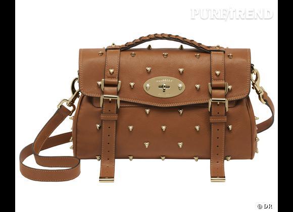 Les it-bags de cet été 2012 : Mulberry    Sac Teddy Rivet, 4350 €.