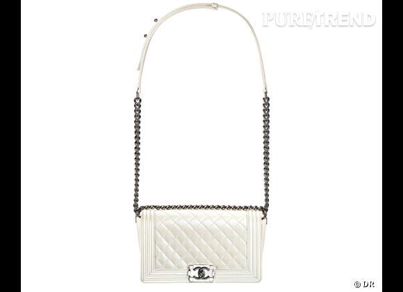 Les it-bags de cet été 2012 : Chanel    Sac Boy Quilted.