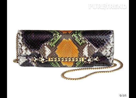 Les it-bags de cet été 2012 : Gucci    Pochette Tigrette 1690 €.
