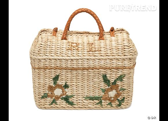 Les it-bags de cet été 2012 : Ralph Lauren Collection     Panier, 595 €.